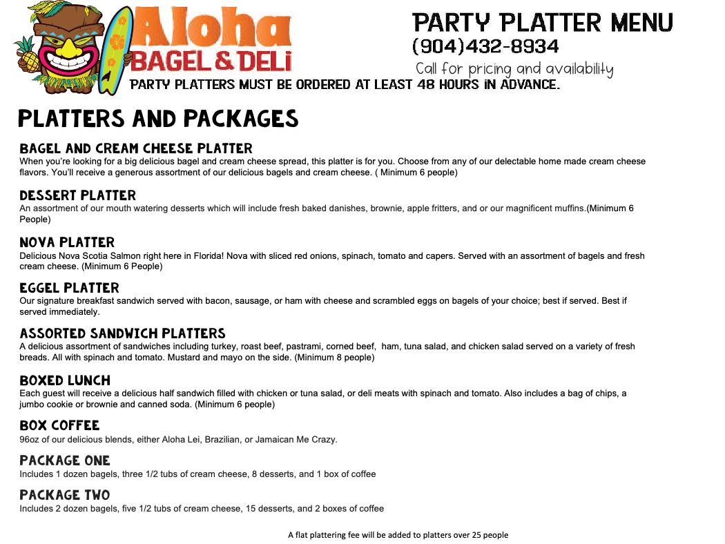 Aloha Bagel C